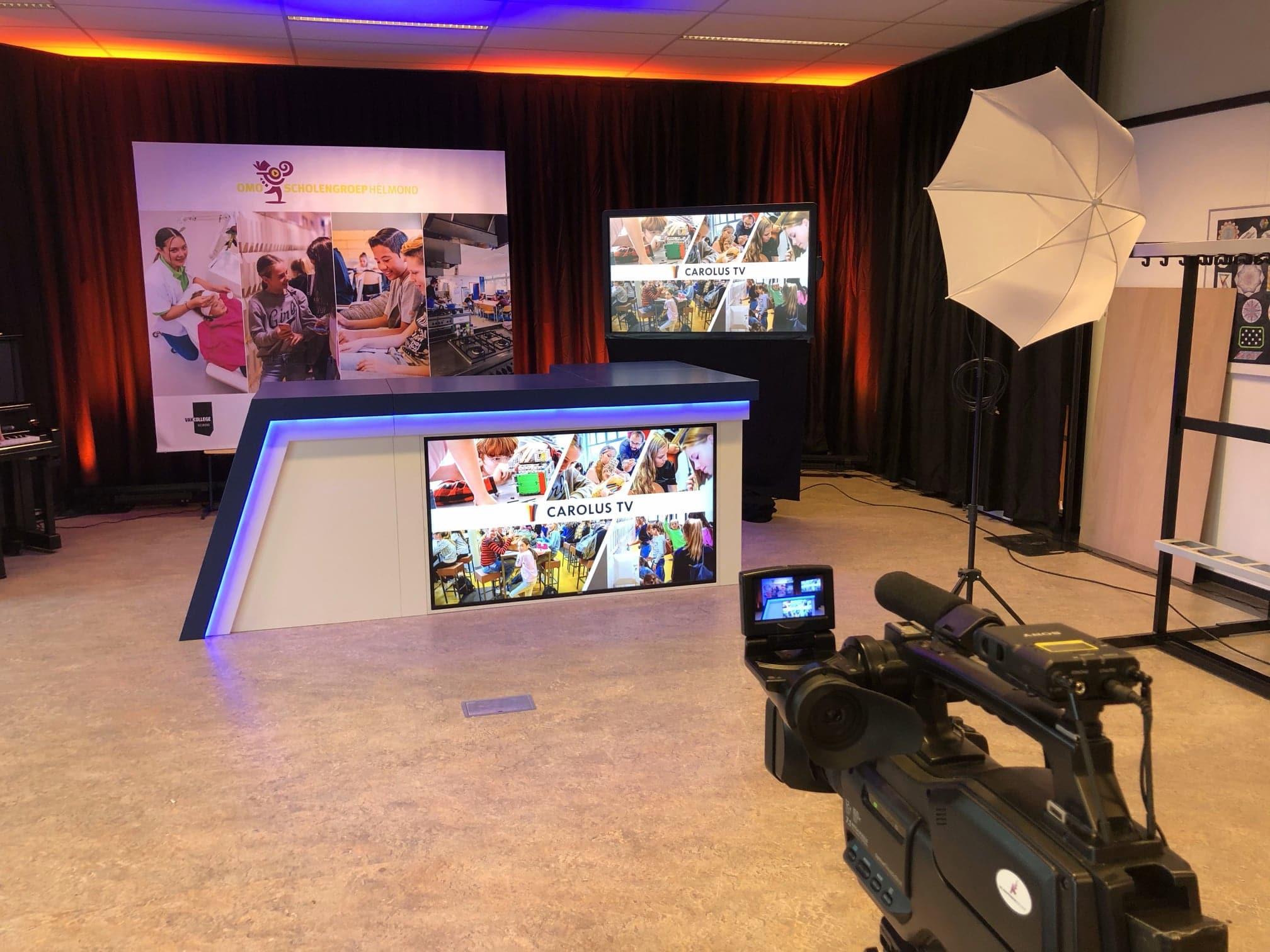 desk uitzending omo scholengroep helmond